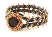 Beads East Naomi Kumihimo and Peyote Stitch Bead Bracelet Kit by Ann Benson