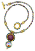 Beads East Dreaminimo Kumihimo and Bead Weaving Necklace Kit by Ann Benson