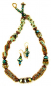 Beads East Farrago Bead Crochet Necklace Kit