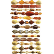 Creative Collection Bead Strand, Gold Rush Collection