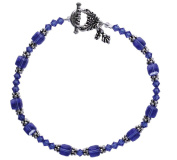 Bead Retreat Added Attractions Bracelet Kit, Sapphire