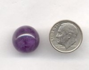 15mm Amethyst Sphere