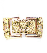 Cousin Precious Accents 15x9mm Box Clasp - 2PK/Gold