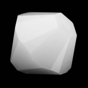 . Crystal 5328 6mm XILION White Alabaster Crystal Bicones - 24 Pack