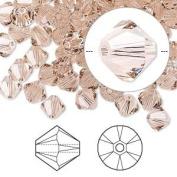 . Crystal 5328 6mm XILION Vintage Rose Crystal Bicones - 24 Pack