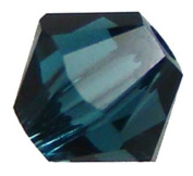 . Crystal 5328 6mm XILION Montana Crystal Bicones - 24 Pack