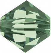 . Crystal 5328 6mm XILION Erinite Crystal Bicones - 24 Pack