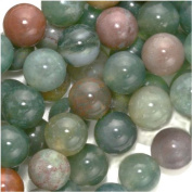 Indian Agate Colour Mix - 6mm Round Beads /15.5 Inch Strand