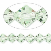 . Crystal 5328 8mm XILION Chrysolite (Green) Bicones - 12 Pack