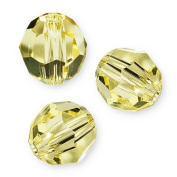 "10 pcs. Crystal 5000 Round 6mm ""Jonquil"""