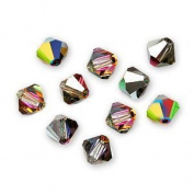 . Crystal Bicones 5301 4mm Vitrail Medium