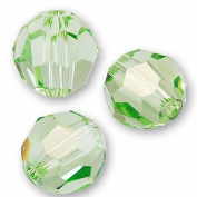 "10 pcs. Crystal 5000 Round 6mm ""Peridot"""