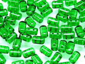 Czech Glass Two-Hole Seed Beads RULLA 3x5mm 20gram CHRYSOLITE