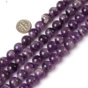 6mm 12mm 14mm round gemstone mixed colour amethyst beads strand 15""