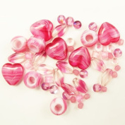 Bead Concepts Jewellery Kit, Fuschia