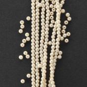 3MM Plastic Pearl Beads - 550pcs/Pack