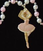 Ballerina Dance Dancing Pink Mardi Gras Beads New Orleans