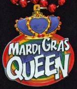 Mardi Gras Queen Crown Bead New Orleans Beads Authentic