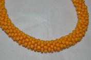 YELLOW Solid bracelet one World Nepal Bracelets Roll on Bracelet Handmade