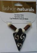 7 Pc Spear Bone Beads - Fashion Naturals #3484907