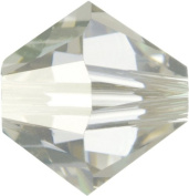 Create Your Style. Elements 4mm Bicone Crystals, Silver Shade