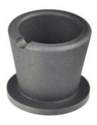 Graphite Torch 300ml Mini Crucible with Base For Melting Casting Refining Gold Silver Copper Scrap Jewellery