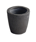 #1 1KG Foundry Clay Graphite Crucibles Cup Furnace Torch Melting Casting Refining Gold Silver Copper Brass Aluminium
