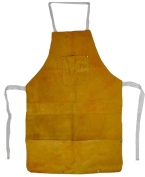 80cm Leather Heat Resistant Melting Furnace Safety Apron Refining Casting Gold Silver Copper Precious Metal Handling