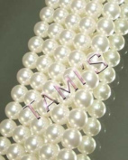 10. Crystal Faux PEARLS WHITE 10mm