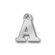 Pewter Initial Charm - Letter A