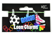 Touch of Nature Loom Band Charms for Jewellery, Sport, Assortment