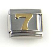 Italian Charm - Gold #7