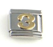 Italian Charm - Gold #3