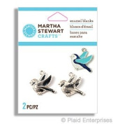 Martha Stewart Crafts Enamel Blanks-Birds