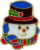 Snowman Floating Locket Charm
