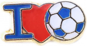 I Love Soccer Floating Locket Charm