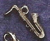 Hampshire Pewter - Saxophone Charm