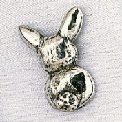 Hampshire Pewter - Easter Bunny Charm
