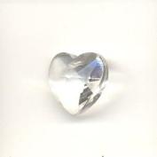 Crystal Heart Pendant - Crystal