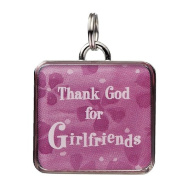 Square Charm - Thank God for Girlfriends