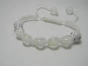 Glow In The Dark Shamballa Adjustable Bracelet Bangle Wristband - Women's Children's Unisex Rave Party Fashion Jewellery