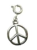 Koolcharmz Peace Sign Dangling Charm