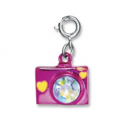 High Intencity CHARM IT! PINK CAMERA Bracelet Charm
