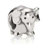 Genuine PANDORA Sterling Silver Elephant Charm 790480
