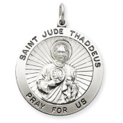 Sterling Silver Saint Jude Thaddeus Medal