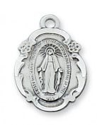 Sterling Silver MIRACULOUS 18