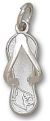 University of Louisville Head Flip Flop 1.6cm - Sterling Silver