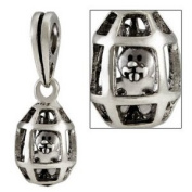Ohm Egg Dangle European Beads