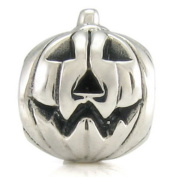 Ohm Halloween Pumpkin European Bead