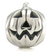 Ohm Halloween Pumpkin European Bead